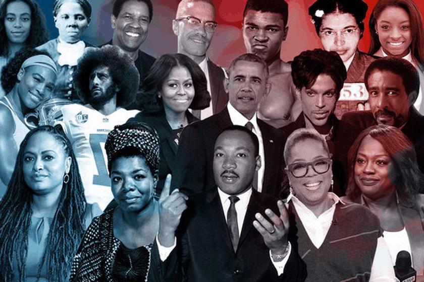 Fevereiro, comemoração do Black History Month